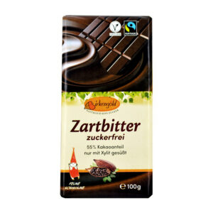Xylit Zartbitter Schokolade (100g)